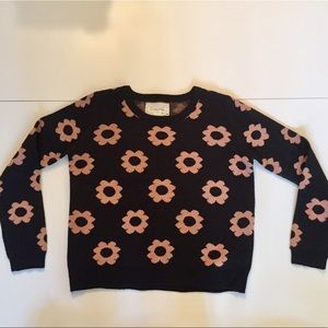 Urban Outfitters Coincidence&Chance Flower Sweater