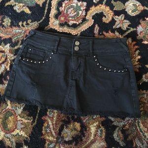 Forever 21 Studded Mini Skirt