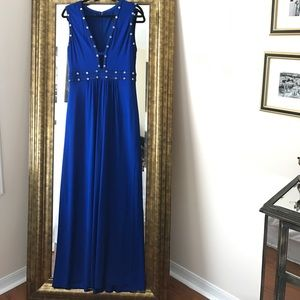 Blue BCBG Gown