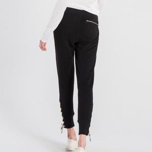 n:PHILANTHROPY Pants - Marta Jogger Black Jogger Sweats