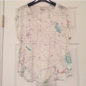 Postmark for Anthropologie Tee