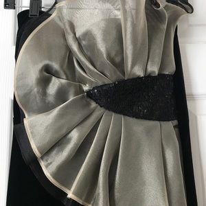 Betsy & Adam Dresses - Betsy & Adam Velvet Gown