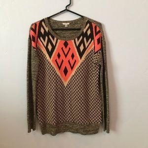 Patterned women's sweater