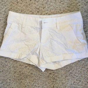 White Lilly Pulitzer Walsh Shorts