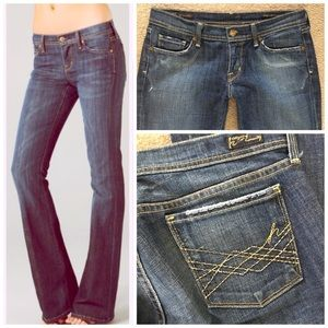 CITIZENS OF HUMANITY NAOMI #065 LOW FLARE JEANS 29