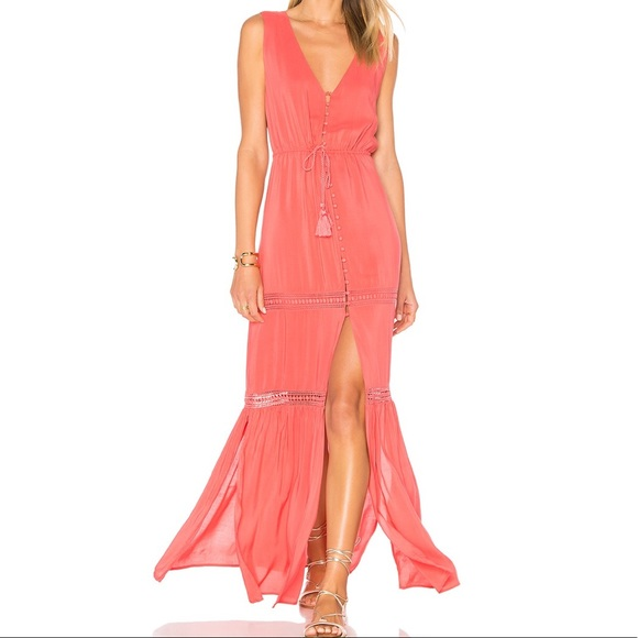 ALE by Alessandra Dresses & Skirts - Juliana Maxi Dress in Coral Crush