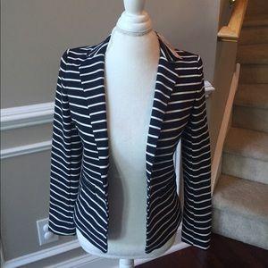 NWT Amazing!! Navy MK striped blazer