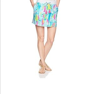 Lilly Pulitzer Beach and Bae Zia Skirt size L