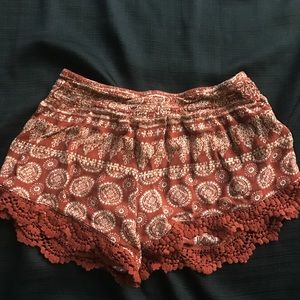 Forever21 flowy shorts