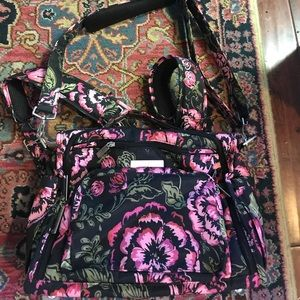 Gorgeous floral Jujubee diaper bag brand new