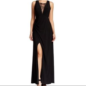 NWT Hailey Adrianna Papell lace inset dress!