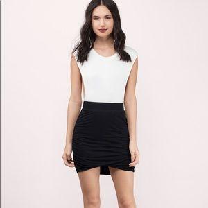TOBI pull it together black miniskirt NWOT
