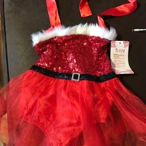 Other - Baby girl Santa romper 12 months