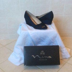 Nina Shoes Navy Blue Edelia