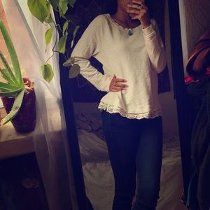 "Anthropologie ""Lou & grey"" sweater"