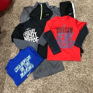 4T Under Armour and Nike! 5 Pieces!!