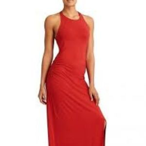 Athleta Saffron Red Serenity Maxi Dress