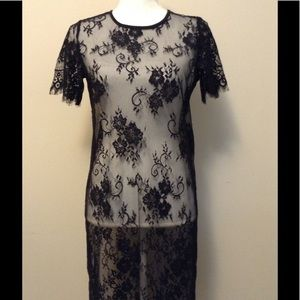 HM lace dress