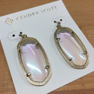 Kendra Scott clear iridescent Elle