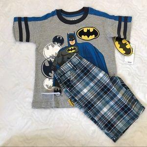 NWT Boys Batman set (L)