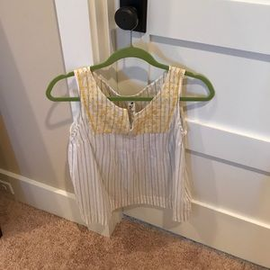 Tops - Embroidered Tank