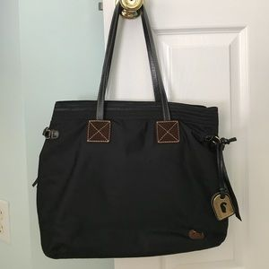 Authentic Black Nylon Dooney & Bourke Bag