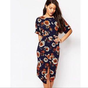 ASOS | Floral Wiggle Dress
