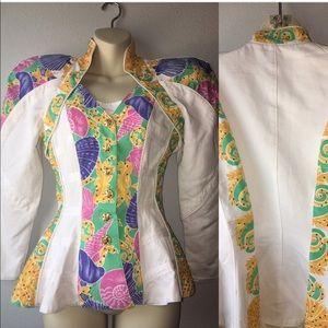 1980s blazer