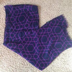 J.crew geometric print scarf
