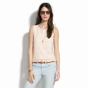 Madewell Soft Lace Tank
