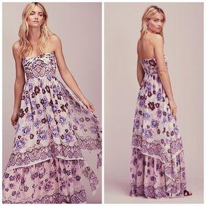 Free People Enchanted Dreams Maxi Dress, Sz S, EUC
