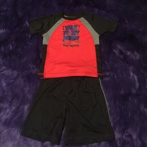 24 MO 'talk to my agent... daddy' athletic set