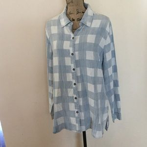 NWT Soft Surroundings long sleeve button up shirt