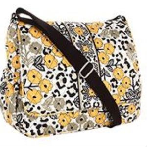 Vera Bradley Messenger Baby Bag. Pattern-Go Wild
