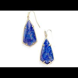 Kendra Scott Lapis Blue Earrings
