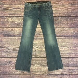 Rerock for Express Bootcut Jeans Sz 4R