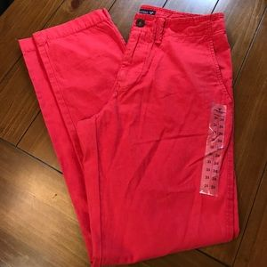 {American Eagle 🦅} Red Chino Pants