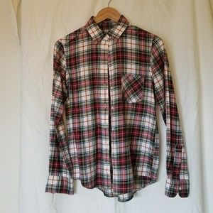 Uniqlo checkered flannel shirt | like-new