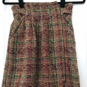 Brand new Anthropologie tweed skirt with pockets!