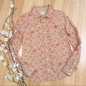 Anthropologie ODILLE embroidered blouse, 8.