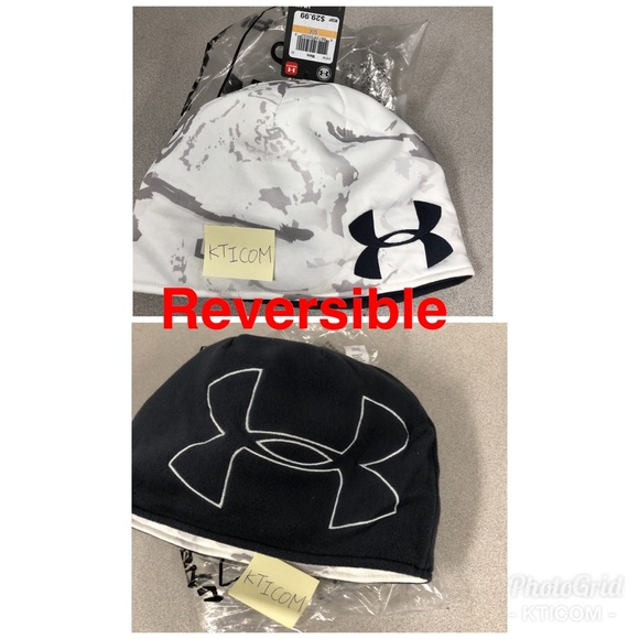 2cad94665be New Under Armour Men s UA Reversible Camo Beanie