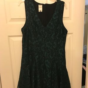 Ali Ro Green Fit and Flare Size 12
