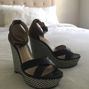 Shoes - NWOT Cute Sandel Wedges!