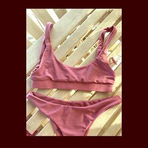 Anna Swimwear Ainsley Set in Rose Pink