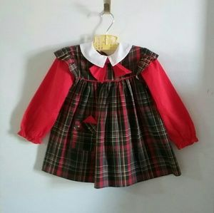 BRYAN Holiday Dress Girl 4T