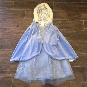 DIsney Cinderella Dress and Cape