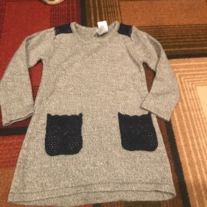 Toddler Girl Sweater Dress