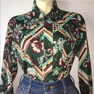 1970s button up