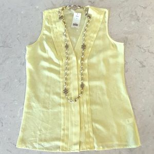 Yellow Banana Republic Top