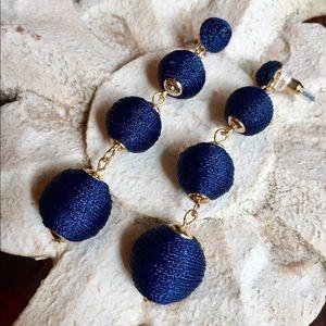Jewelry - Orb Dangle earrings in Royal Blue